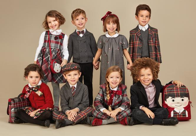 Фото №1 - Модные школьники: детская коллекция Dolce&Gabbana осень-зима 16/17
