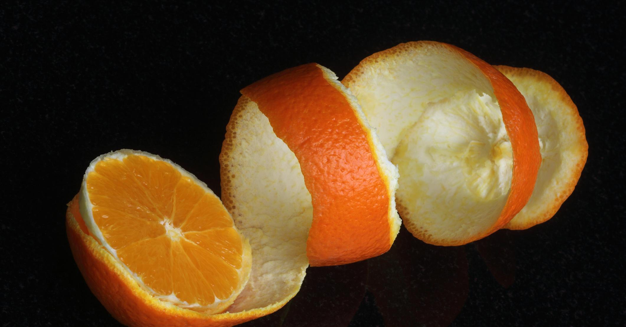 Что можно сделать из цедры апельсина