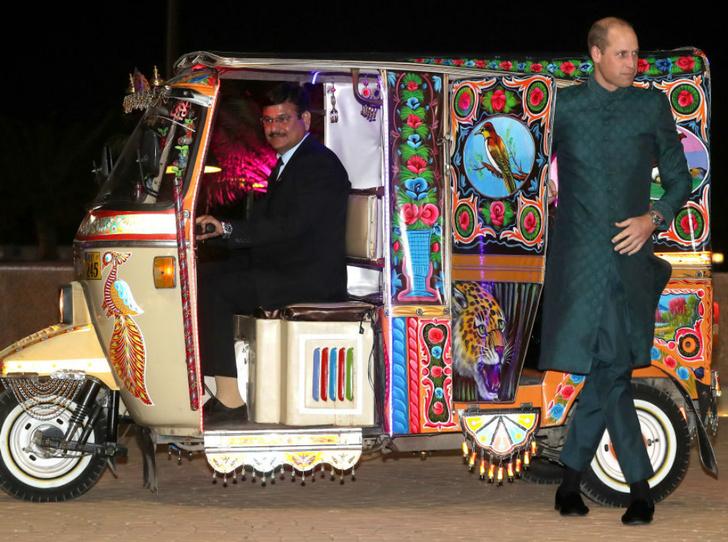 Фото №2 - Принц Уильям нарушил «кодекс джентльмена» во время пакистанского тура