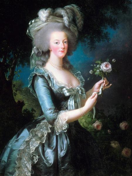 Королева Мария-Антуанетта, 1783 год.