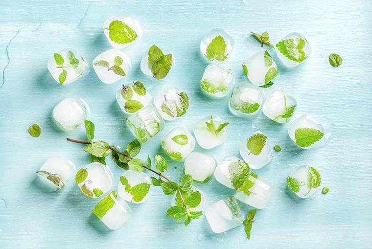 Омолаживающие кубики льда: 10 рецептов