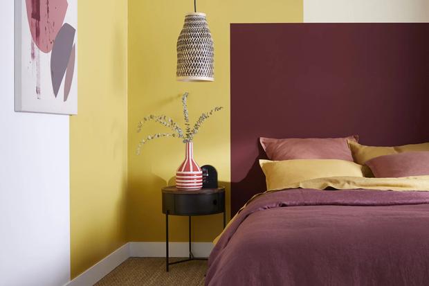 Фото №17 - Цветные сны: Color Blocking в спальне