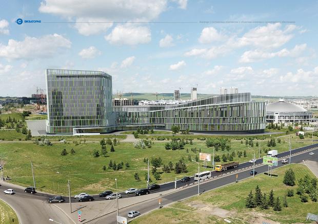 Самым высоким объектом станет гостиница— 38 метров в высоту. Это примерно равно «панельке» на 12-13 этажей