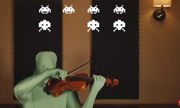 Фото №1 - Эволюция музыки из игр с 1972 по 2019 год. В одном видео с одним скрипачом