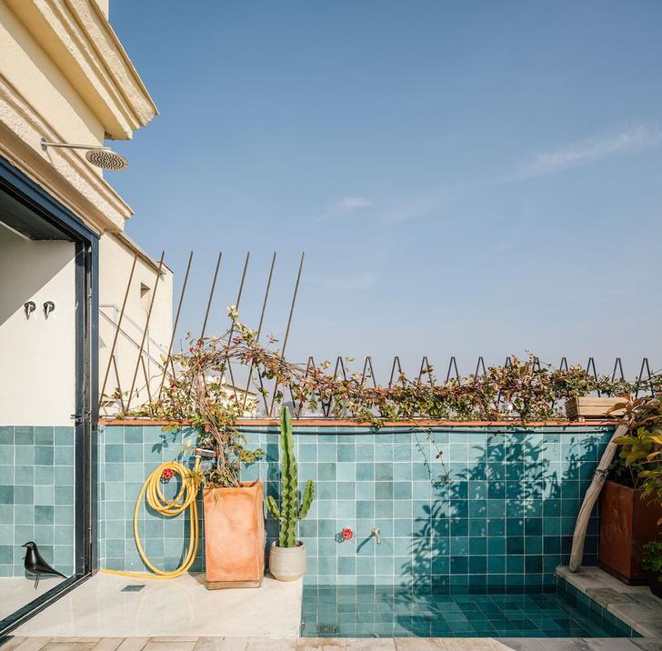 Фото №15 - Мансарда с террасой на крыше в Мадриде