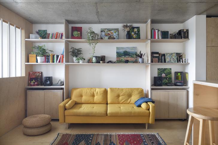 Фото №7 - Желтый цвет в интерьере: советы и приемы