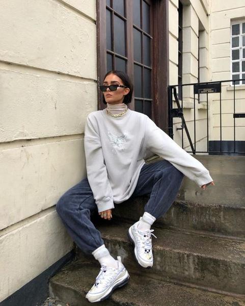 Фото №3 - Фэшн-идея: с чем носить объемный свитер