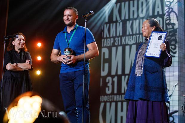 Дмитрий Давыдов и Валентина-Чыскыырай Романова