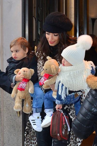 Фото №1 - Как выглядит подросший сын Джорджа и Амаль Клуни