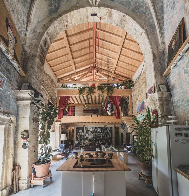 Фото №11 - Дом в старой церкви в Испании