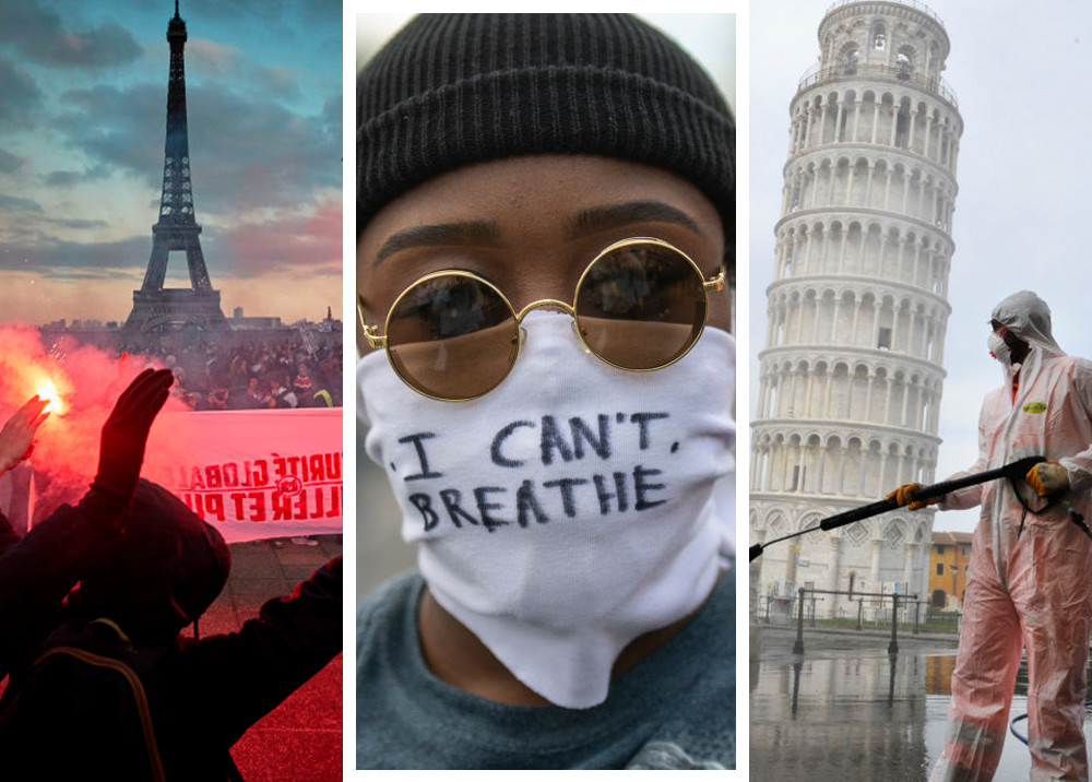 2020 год в фотографиях: каким мы его запомним