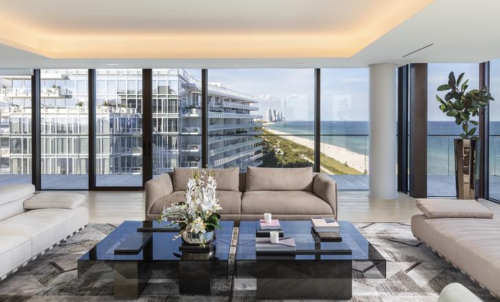 Фото №3 - Пентхаус в Майами по дизайну Антонио Читтерио