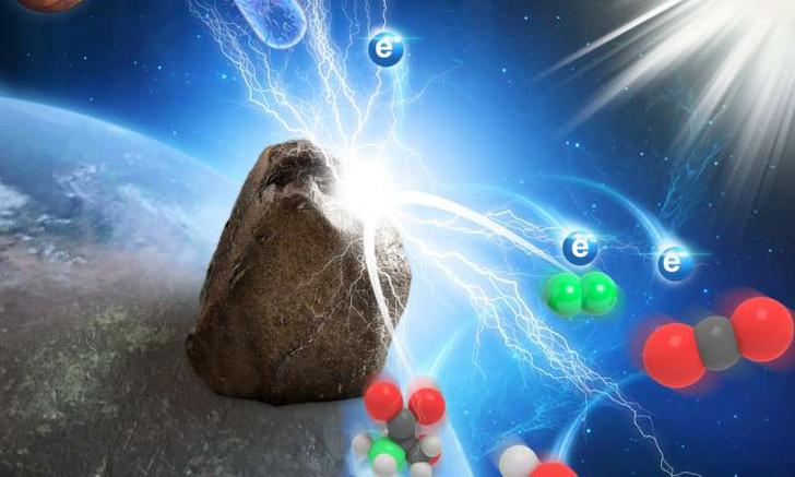 Фото №1 - Обнаружены камни, превращающие свет в электричество