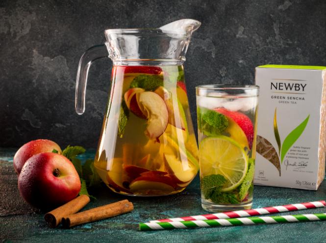 Фото №2 - Два рецепта освежающего лимонада на основе чая
