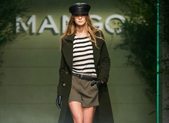 Фото №1 - MANGO представил коллекцию «On the front line»