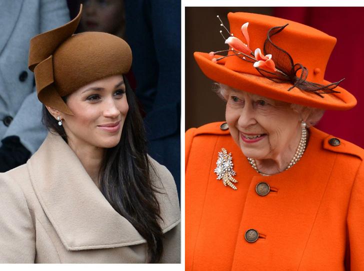 Фото №1 - Верх изобретательности: что Меган подарила Королеве на первое Рождество в Сандрингеме