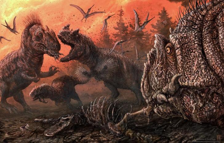 Фото №1 - Динозавров обвинили в каннибализме