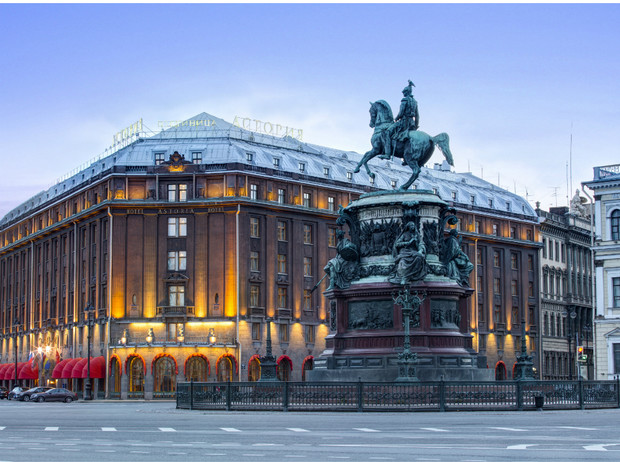 Фото №1 - 5 причин провести отпуск в отеле «Астория» в Санкт-Петербурге