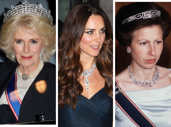 Фото №1 - Какие украшения из королевской коллекции могут заимствовать представительницы БКС