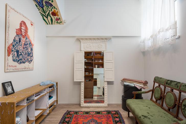 Фото №3 - Швейное ателье «МОМО»: интерьер в неорусском стиле от бюро Nativ Studio