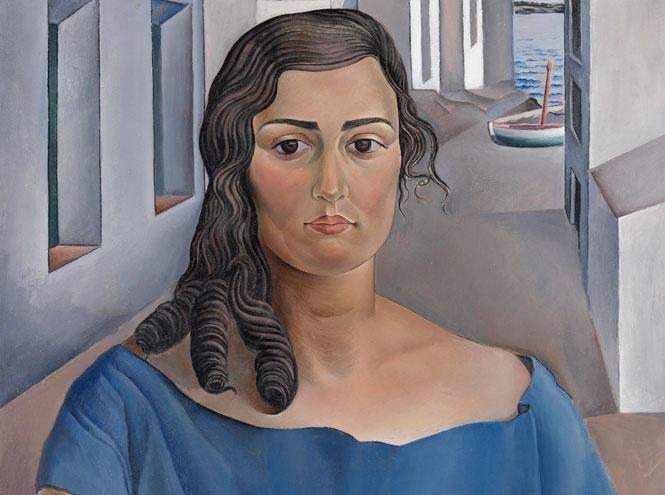 Фрагмент картины Сальвадора Дали