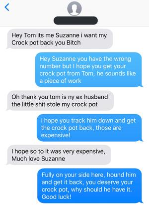 Фото №2 - Женщина отправила злое сообщение на неправильный номер и прославилась в «Твиттере»