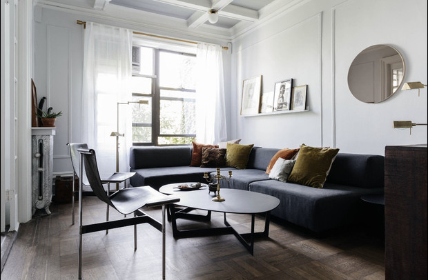 Фото №4 - Романтичная квартира в довоенном доме в Бруклине