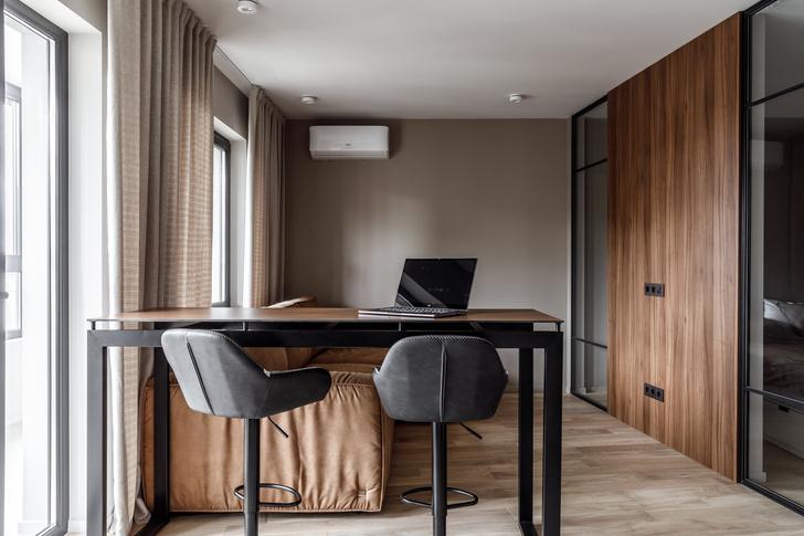 Фото №2 - Стильная квартира с бюджетным ремонтом в Краснодаре
