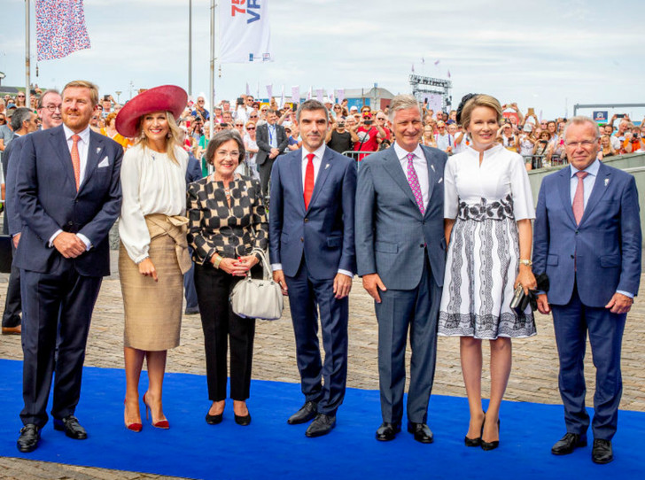Фото №5 - Королева Нидерландов и королева Бельгии выступили вместе на особом праздновании