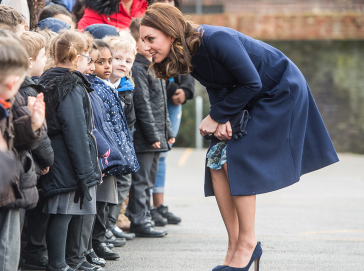 Фото №6 - К работе после праздников: первый визит герцогини Кэтрин в 2018 году