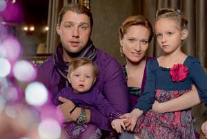 Фото №1 - Танец для четверых: Мария Киселева и ее семья