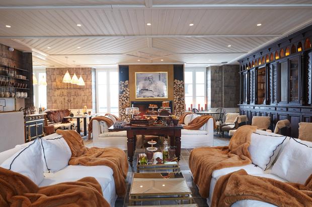 Фото №6 - Отель Grand Hôtel du Soleil d'Or: жемчужина Межева