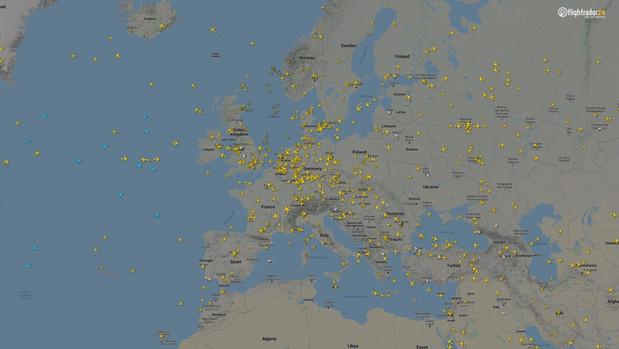 Фото №5 - Как изменился авиатрафик в разных регионах мира во время пандемии