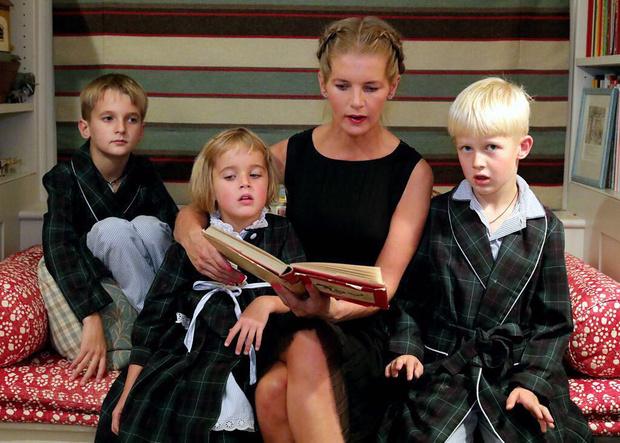 Фото №1 - Графиню Толстую выселяют с детьми из лондонского особняка за долги