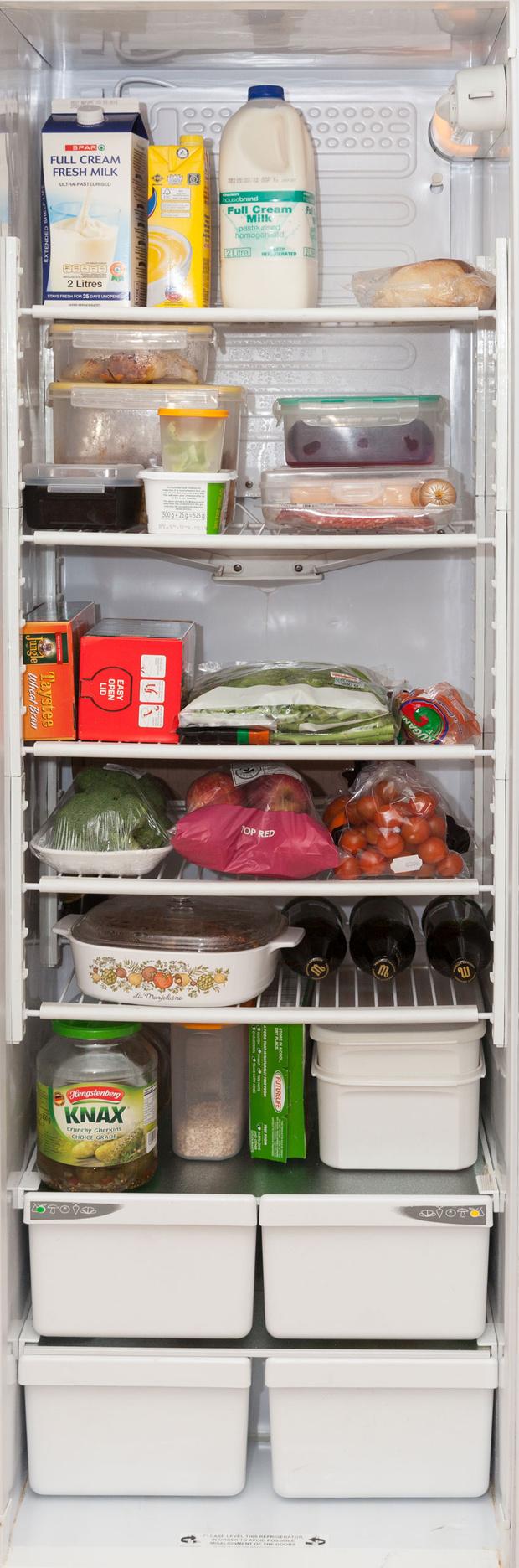 Фото №65 - Что лежит в холодильнике у жителей разных стран: 54 любознательных фото