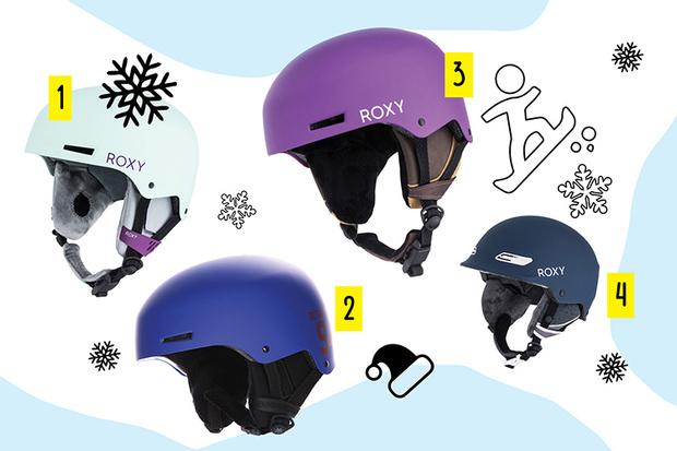 Фото №1 - Top-sport: крутые шлемы для сноуборда