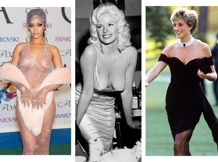 Фото №1 - От Дианы до Рианны: самые скандальные платья в истории моды