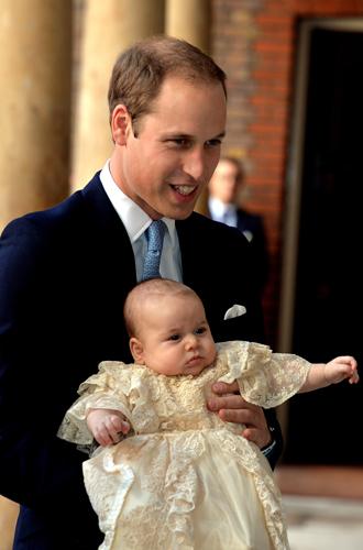 Фото №15 - Самые трогательные моменты крестин детей герцогов Кембриджских