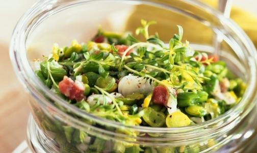 Фото №1 - Что добавить в весенний салат