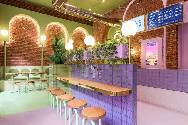 Фото №3 - Яркая закусочная Bun в Милане