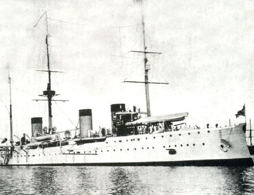 Фото №1 - Еще раз о гибели крейсера «Жемчуг»