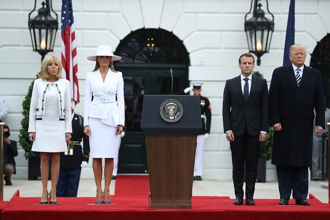 Фото №6 - Как Трамп Макрона принимал: самые яркие детали госвизита французской Первой пары в США