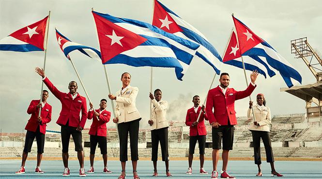Фото №9 - От Лубутена до H&M: самая обсуждаемая форма олимпийцев-2016