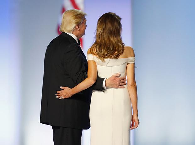 Фото №13 - Рождение fashion-звезды: Мелания Трамп на инаугурации