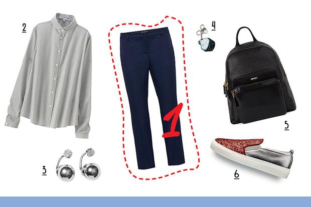 Фото №4 - С чем носить классические брюки
