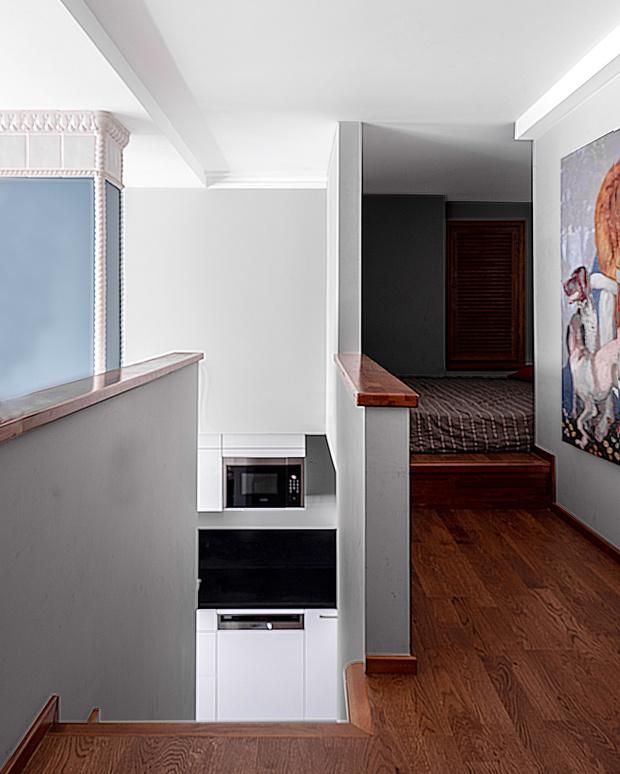 Фото №7 - Двухэтажный пентхаус в стиле бохо в Перми