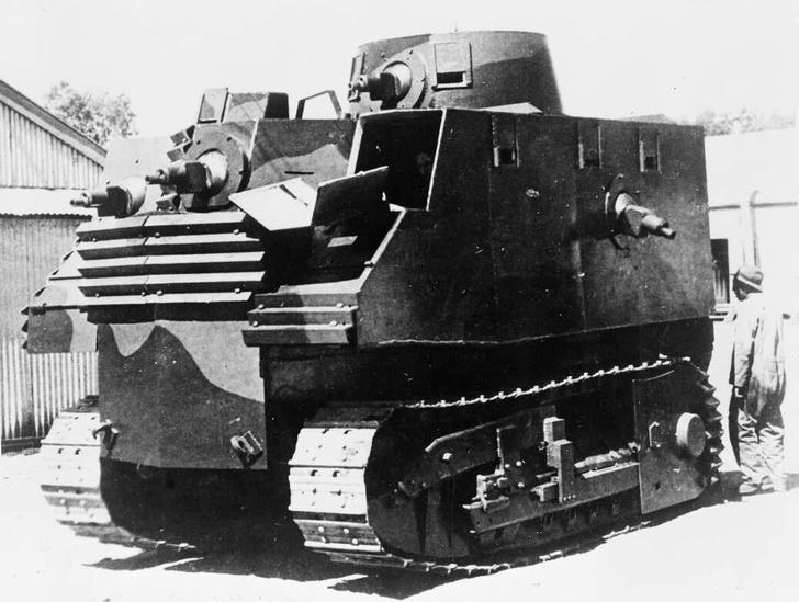 Фото №3 - Стальная жуть: самые уродливые танки Второй мировой