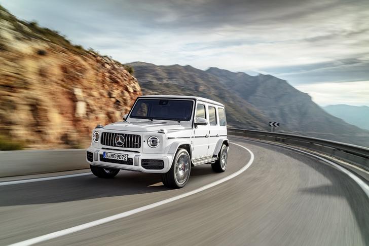 Фото №5 - Новый Mercedes-AMG G 63 умеет забираться на скалы