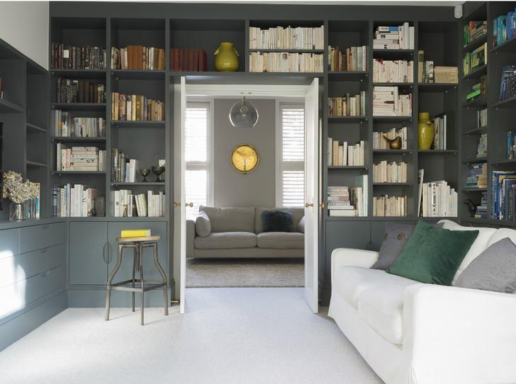 Фото №4 - Здесь живут книги: как красиво оформить домашнюю библиотеку