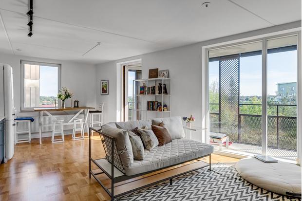 Фото №1 - Маленькая квартира в пригороде Стокгольма